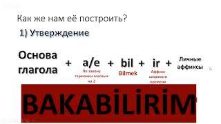 Урок турецкого языка. Формы возможности. Как сказать, что мы можем что-то сделать?