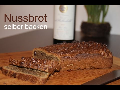 brot rezept nussbrot selber backen youtube. Black Bedroom Furniture Sets. Home Design Ideas