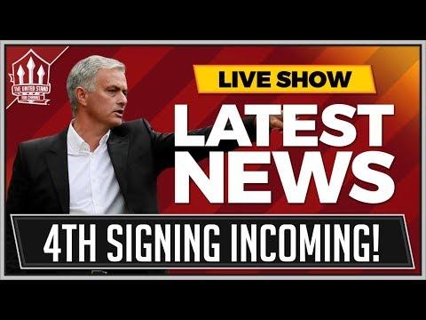 MOURINHO Confirms 4th MANCHESTER UNITED Transfer? MAN UTD Transfer News