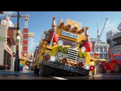 LEGO Ninjago Movie Lloyd high school scene