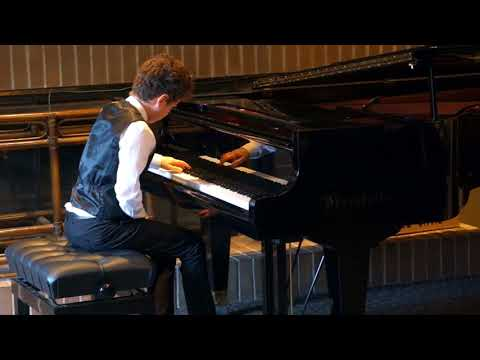 Jonathan Alter (12): Bach Prelude and Fugue No. 6 in D minor, and Chopin Fantaisie-Impromptu Op.66