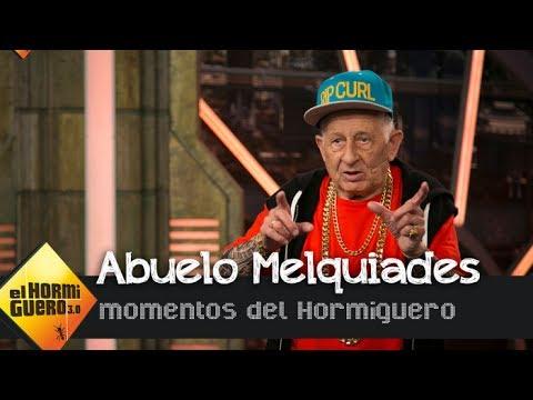 """El abuelo Melquiades reta a Daddy Yankee: """" A ver quién baila mejor reggaeton"""" - El Hormiguero 3.0"""