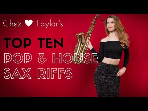 Top 10 pop and house riffs to learn on sax 🎶 saxophone lessons / tutorials