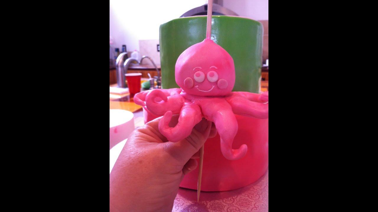 Octopus Cake Topper