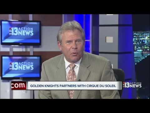 Vegas Golden Knights partner with Cirque du Soleil
