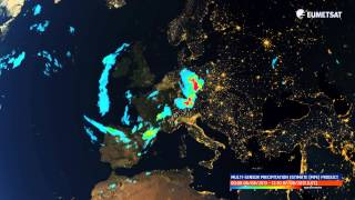 Summer storms over Europe