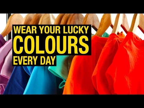 Color Trends 2017 | Wear your lucky colours every day | Artha