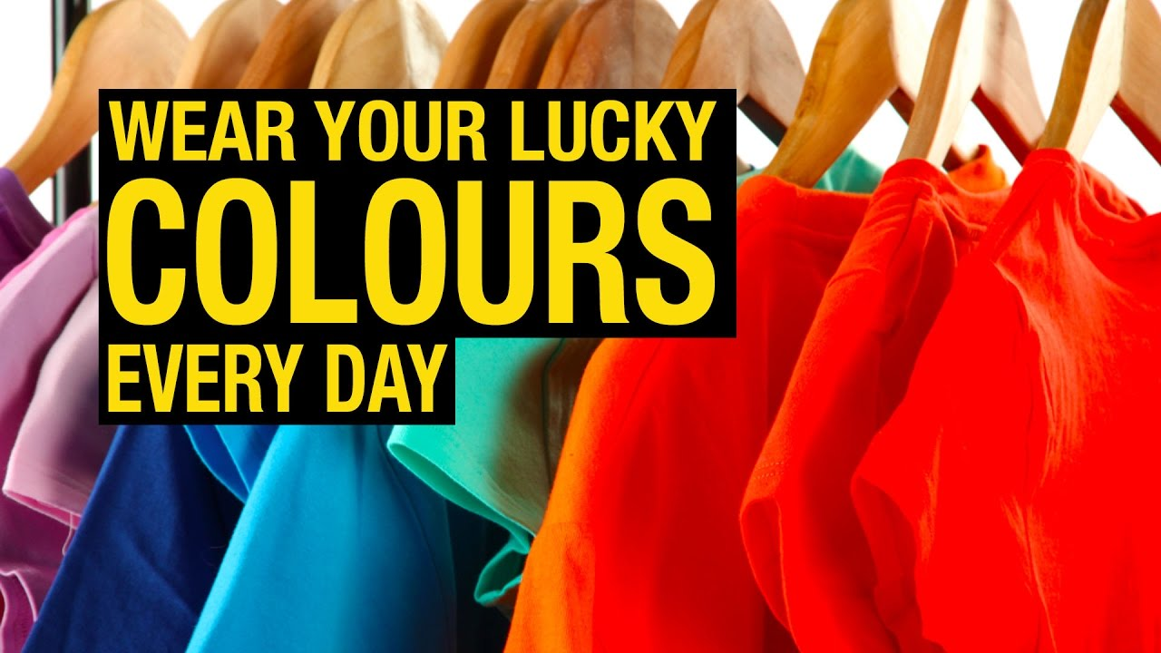 color trends 2017 wear your lucky colours every day artha youtube. Black Bedroom Furniture Sets. Home Design Ideas