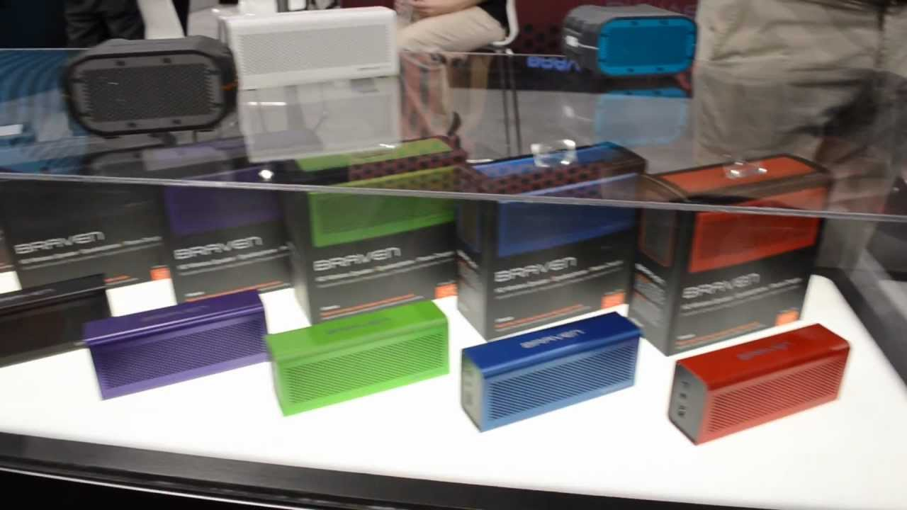 CES 2013 | BRAVEN: Pretty Awesome Portable Bluetooth Speakers