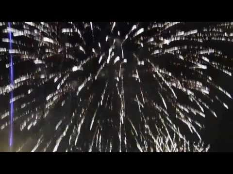 Fireworks Behind Coors Field - Denver, Colorado - July 4, 2013
