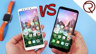 Redmi 5 VS Redmi 5 Plus - Which one should you buy?