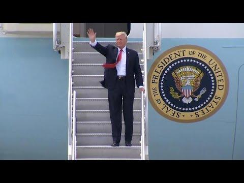 Trump calls obstruction probe a