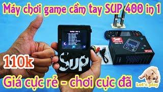 Máy chơi game cầm tay 4 nút SUP 400 in 1 (game box giá rẻ chơi cực thích)