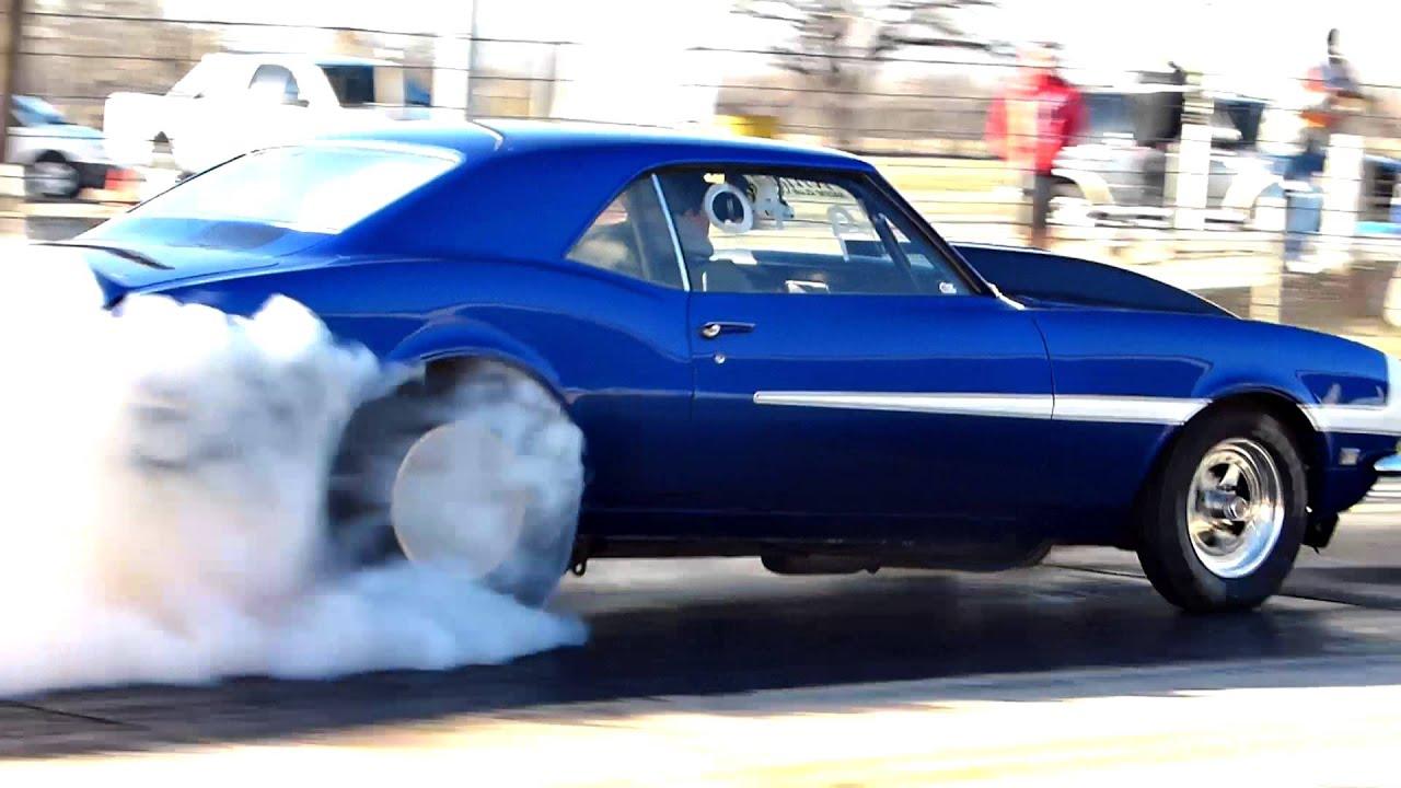 Blue 1968 RS-SS Camaro Burnout 1 - FZ200 1080p.mp4 - YouTube