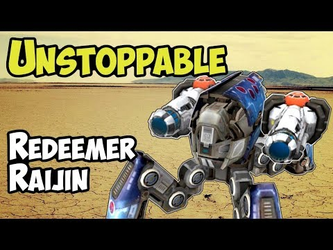 War Robots New UNSTOPPABLE Redeemer Raijin Gamplay Analysis