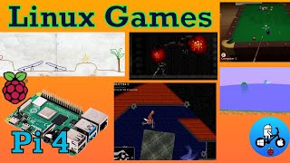 Raspberry Pi 4 Great Linux Games Test Part 2