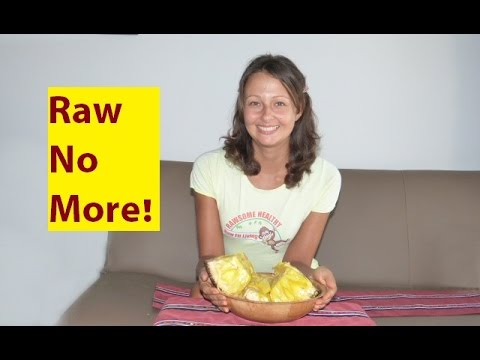 """No More Raw Food Diet… I'm Liberated!"""