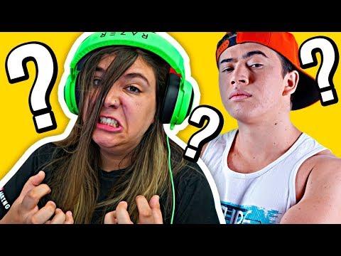 GÊNIO QUIZ YOUTUBERS #02: COMO QUE ESCREVE O NOME DELE?? 🤔🤔