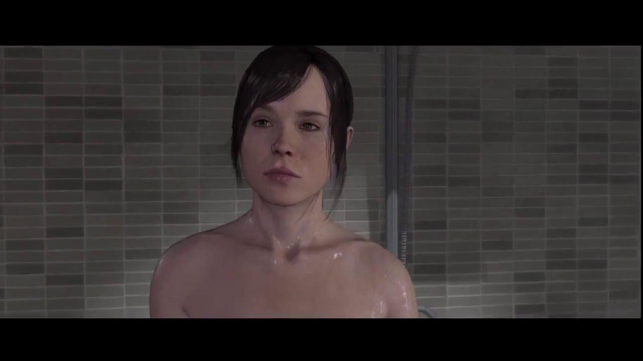 Ellen page beyond two souls shower scene