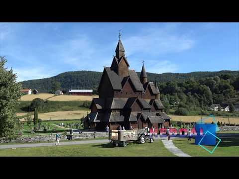 The Heddal stave church / Bokmål Heddal stavkirke (Norway/Norge)