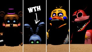 Animatronic Salvage - All Rockstars + Lefty New Jumpscare!