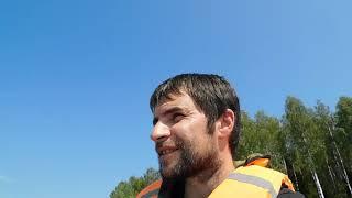 трудовая рыбалка летом в жару