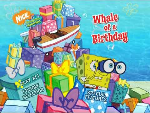 Whale Of A Birthday Dvd Menu Walkthrough Youtube