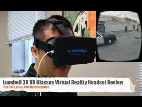 Luxebell 3D VR Glasses Virtual Reality Headset Review