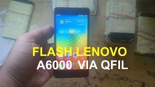 FLASH LENOVO A6000 DENGAN QFIL