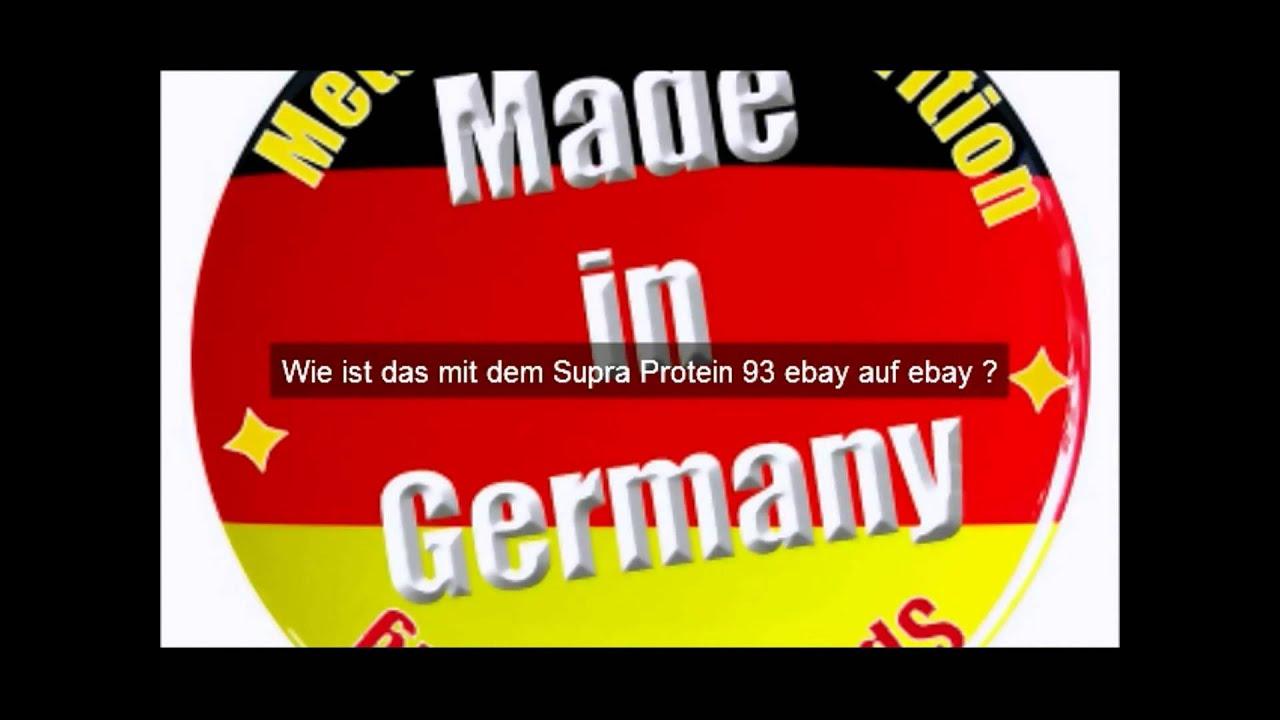 Supra Protein 93 Ebay Auktion Ab 1 Euro Jetzt Handeln Youtube
