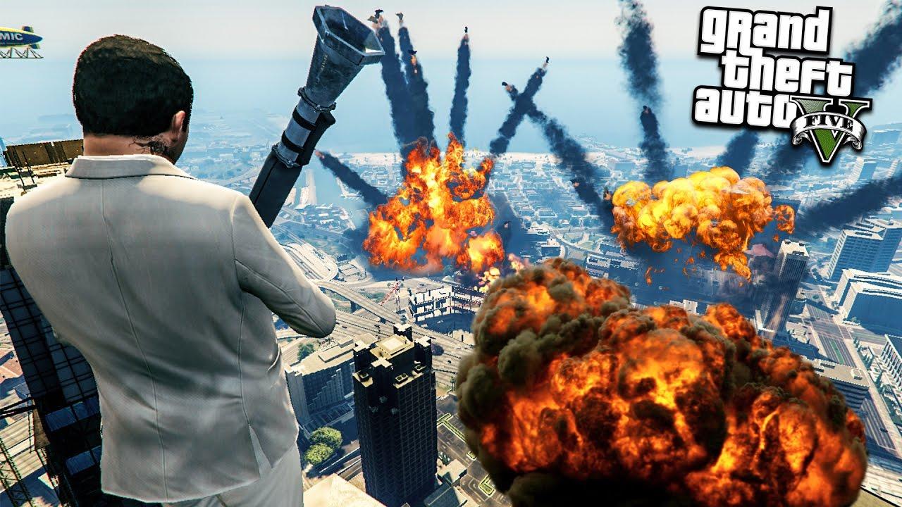 Видео игра взрывы