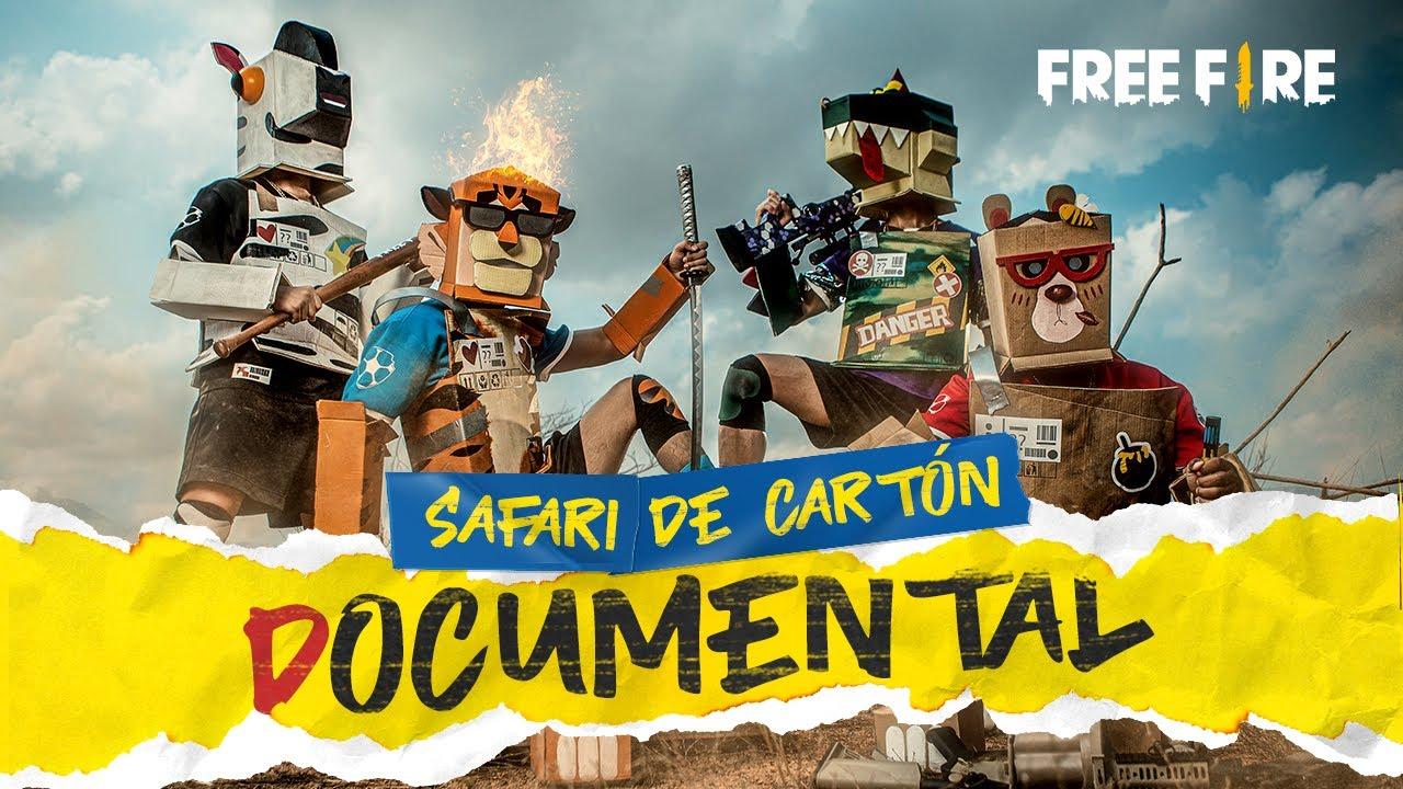 Safari de Cartón 📦🍃 - Documental Free Fire 📽   Garena Free Fire