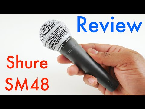 Shure SM48 Review and Test