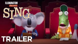 Sing - Official Teaser (HD) - Illumination