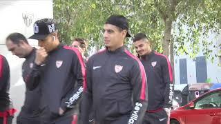 Paseo previo al Valencia CF - Sevilla FC