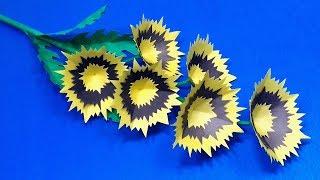 Flower DIY: Very Nice & Easy Paper Stick Flower | Beautiful Handcraft | Jarine's Crafty Creation