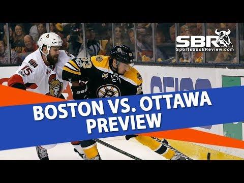 Free NHL Pick | Boston Bruins vs Ottawa Senators | Ice Guys