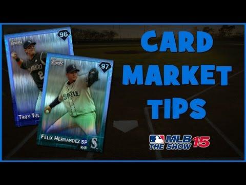 MLB 15 The Show Diamond Dynasty | MLB Card Marketplace Tips