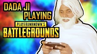 Dada Ji Playing PUBG MOBILE GAME | Hindi Comedy | Pakau TV Channel