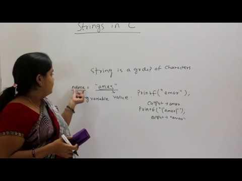 Strings in C Programming (Hindi/Urdu)