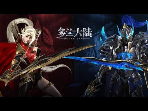 New Open World MMORPG Android / iOS Game 2019 [Land of Doran 多兰大陆] Gameplay