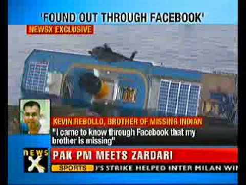 Italy cruise ship disaster: 1 Indian still missing