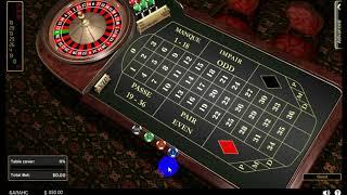 Игра в рулетку, 375$ в плюс