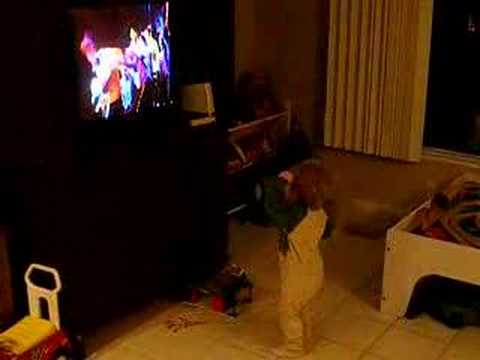 stew dancing to the wiggles wheres jeff jan 08 youtube
