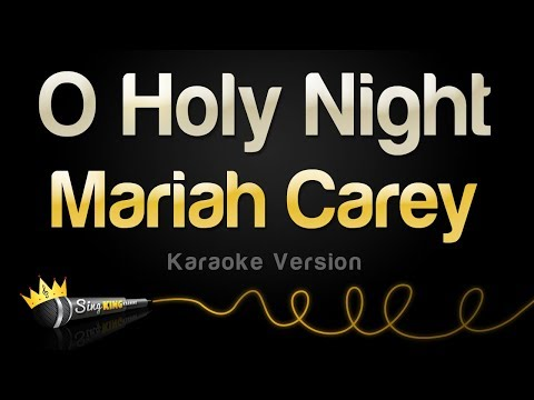 Mariah Carey - O Holy Night (Karaoke Version)