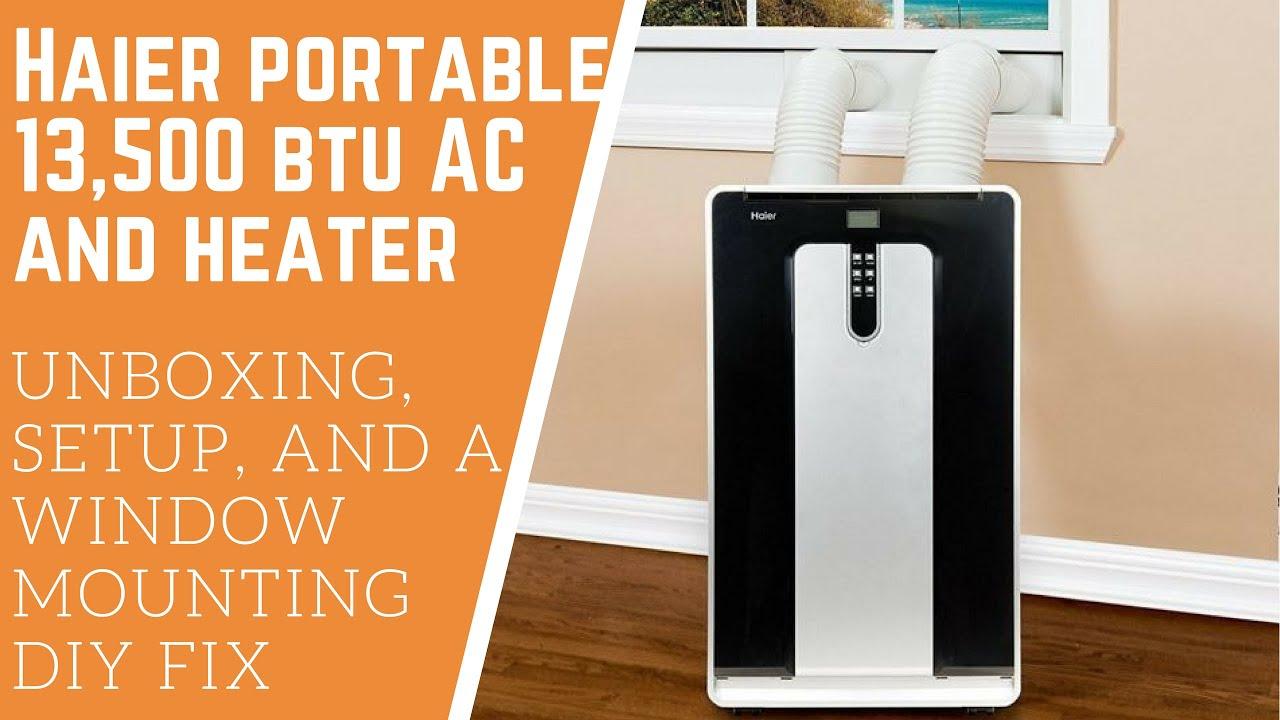 Haier Portable Air Conditioner 13 500 Btu Model Hpnd14xht