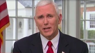 Pence: 'I wasn't offended' by message of ...