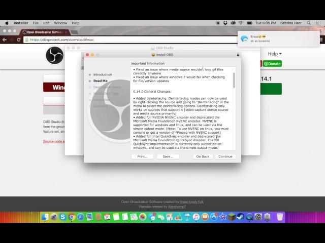 download obs mac