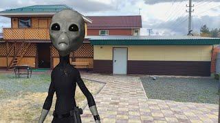 Nerf game  aliens are trying to take over the house Нерф вар инопланетяне пытаются захватить дом