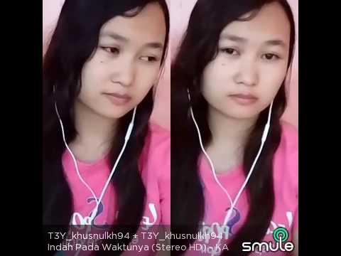 Cover Lagu Indah Pada Waktunya Soundtrack Centini Manis  Dewi Persik  Voc By Khusnul Khotimah Tkw Taiwan